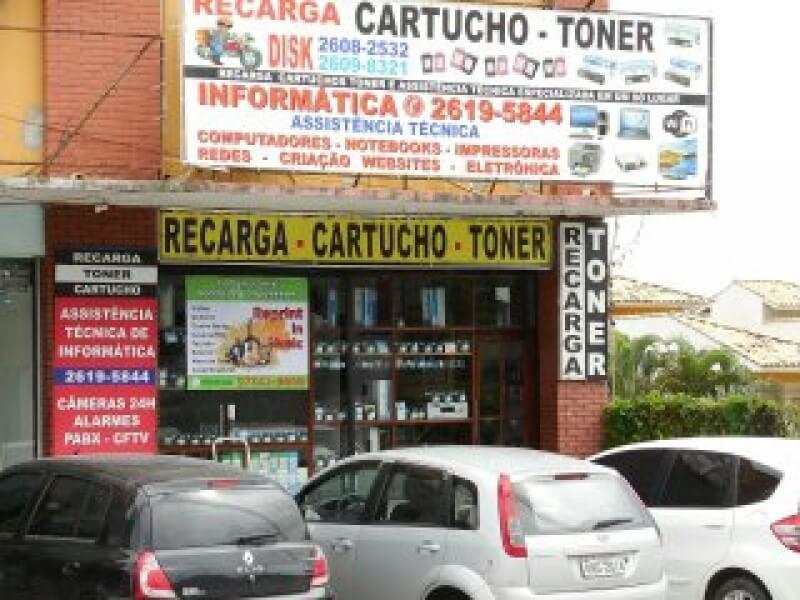 Franquia Loja recarga de cartuchos